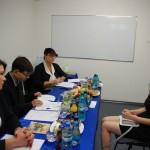 Komisja egzaminacyjna - Przewodnicząca dr S. Kurzawa