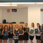 Grupa studentów z promotorem
