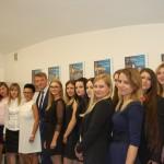 Grupa studentów z promotorem dr M. Cholewińskim