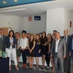 Grupa studentów z promotorem dr A. Wojtowicz