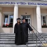 Prezes i wiceprezes Rady Uczelnianej Samorządu Studentów