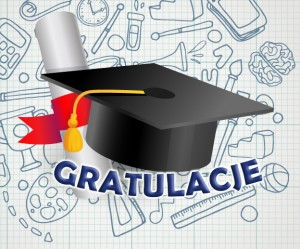 Gratulacje dla absolwentów - baner