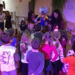 Zajęcia w przedszkolu - dzieci podczas zabawy