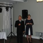 Bal otworzyli Dziekan dr Renata Smoleń i prof. dr hab. Leszek Kozioł