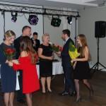 Kwiaty z okazji imienin otzrymali Pani Renata Smoleń, Renata Ząbek i Witold Wojtowicz