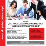 Aktywizacja zawodowa młodych subregionu tarnowskiego