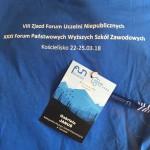 koszulka i identyfikator przedstawicielki MWSE
