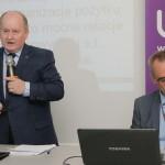 Prof. Piotr Urbanek i Prezes Krzysztof Pietraszkiewicz
