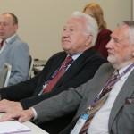 Prof. Stanisław Rudolf oraz Prof. Adam Peszko podczas pierwszego dnia konferencji