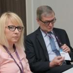 Reprezantanci MWSE dr Barwacz i mgr Chrabąszcz-Sarad