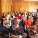 Studenci biorący udział w wykładzie