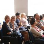 Studenci zgromadzeni na wykładzie