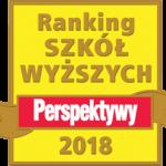 "Ranking czasopisma ""Perspektywy"" 2018"