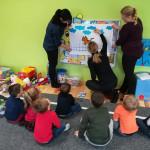 Studenci w przedszkolu Słoneczko 2018-12