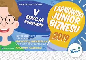Tarnowski Junior Biznesu - plakat