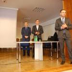 Przedstawiciele ZUS w trakcie wykładu