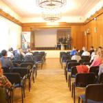 Studenci uczestniczący w wykładzie otwartym