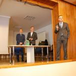 Przedstawiciele ZUS podczas wykładu