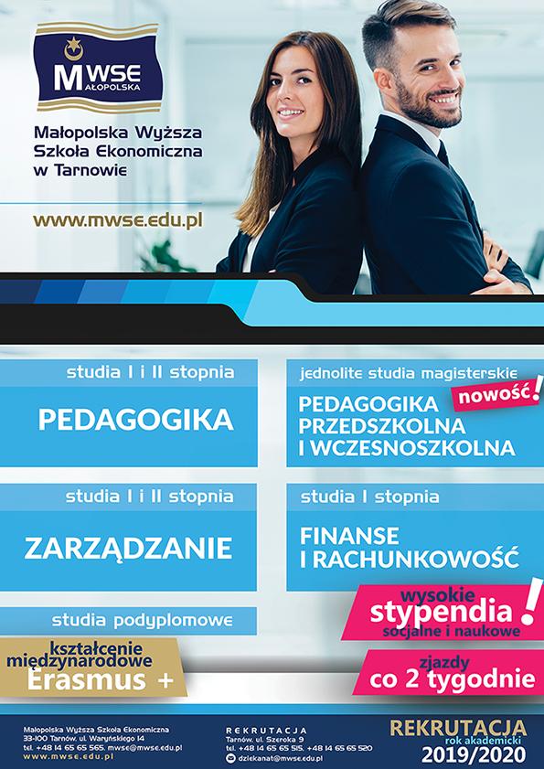 Rekrutacja 2019/2020 plakat