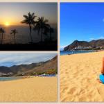 Teneryfa, plaża - kompozycja zdjęć