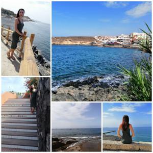 Teneryfa - kompozycja zdjęć - morze