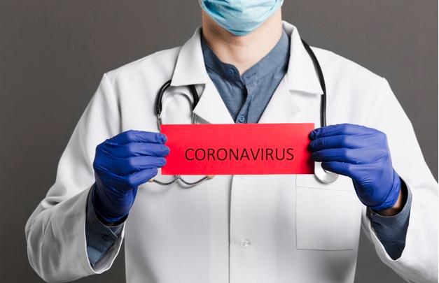 Koronawirus informacja - baner