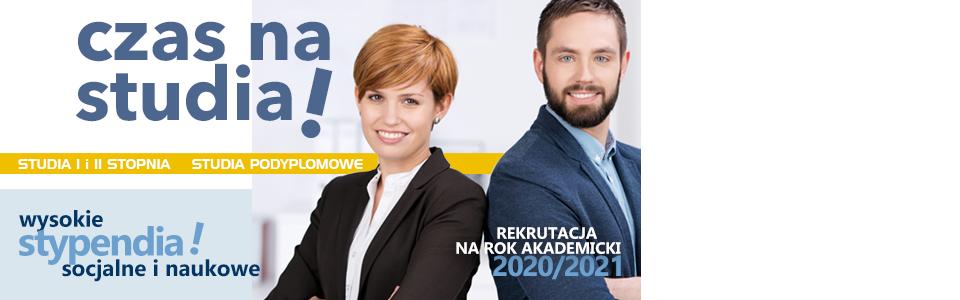 Baner 2020 rekrutacja-stypendia
