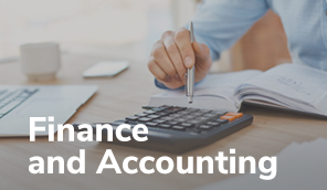 Finance and accounting - baner-przycisk
