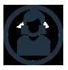 Pracownica - ikona
