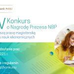 XIV edycja Konkursu o Nagrodę Prezesa NBP